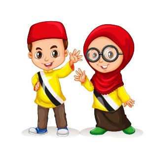 15 Gambar Kartun Muslimah, Muslim dan Islamik